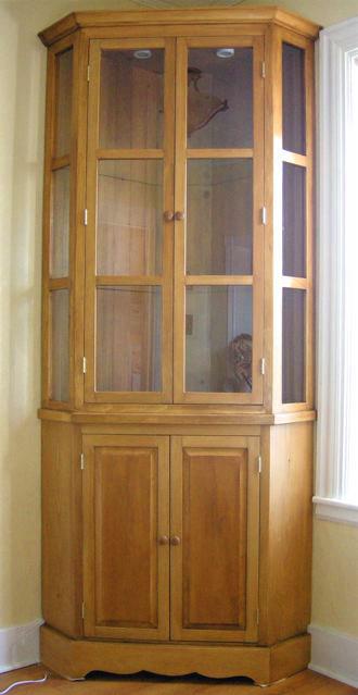 Corner Curio Cabinets Target